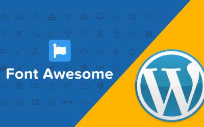 Wie erweitert man WordPress mit Font Awesome?