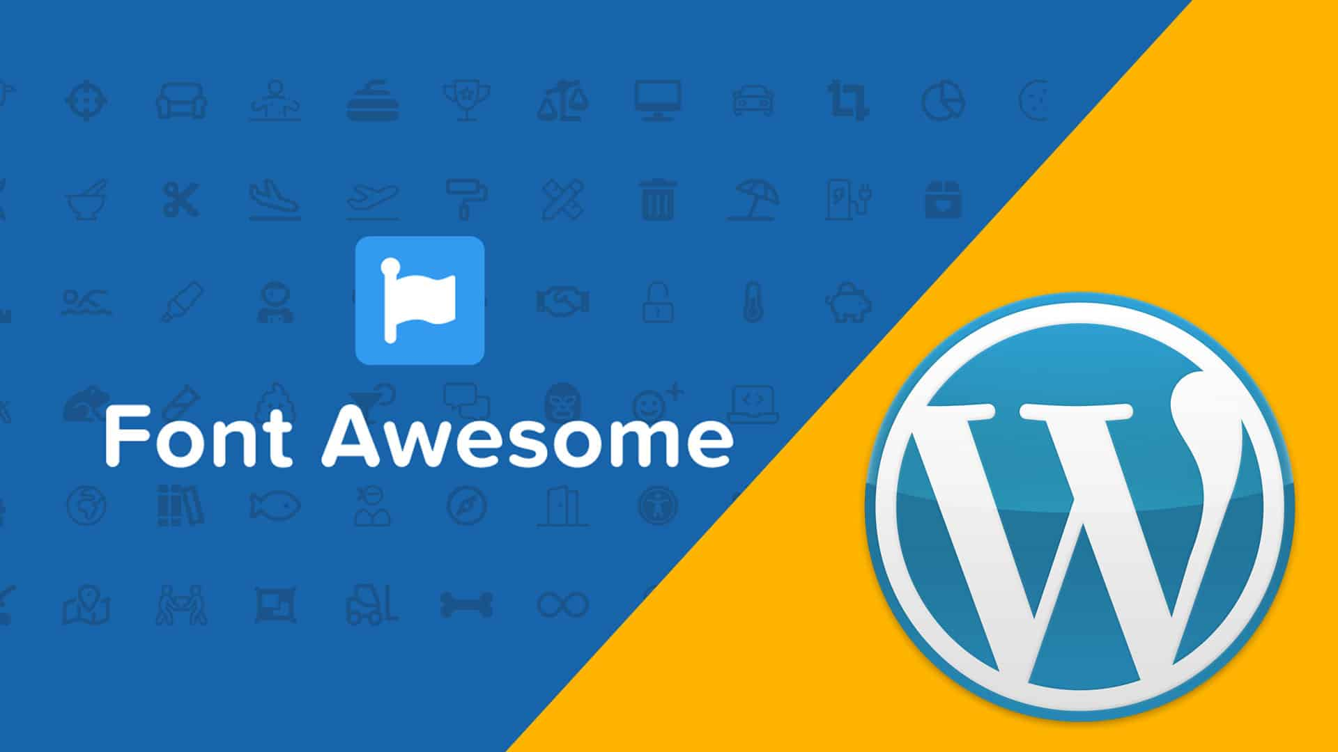 WordPress Menu mit Font Awesome Icon erweitern