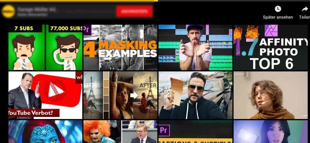 DIVI: Empfohlene Videos ausblenden / Disable related YouTube Videos