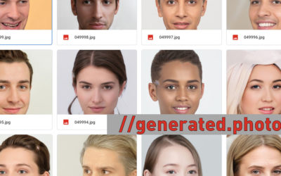 100'000 KI generierte Porträts