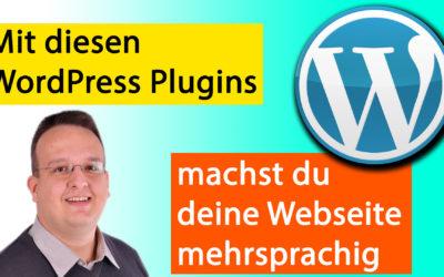 Plugins, mit denen du eine WordPress Webseite mehrsprachig machst