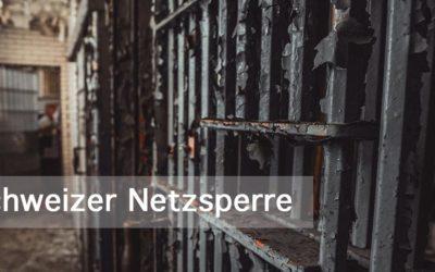 Wie man die Netzsperre der Schweiz standardmässig abschaltet