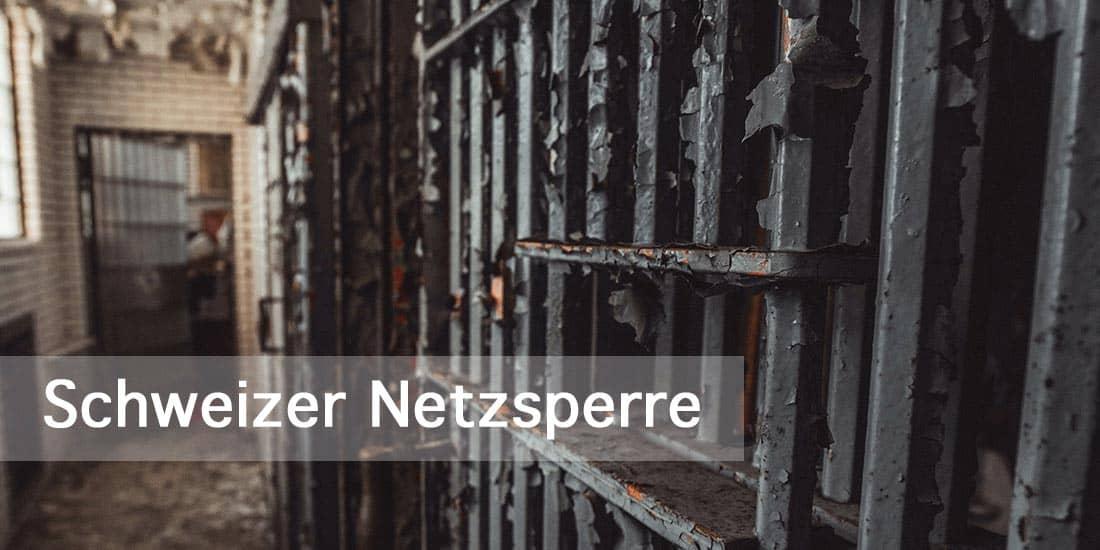 Schweizer Netzsperre – Die schweizerische chinesische Digitalmauer ist so löchrig wie der Emmentaler – wohl von Deppen für Deppen konzipiert