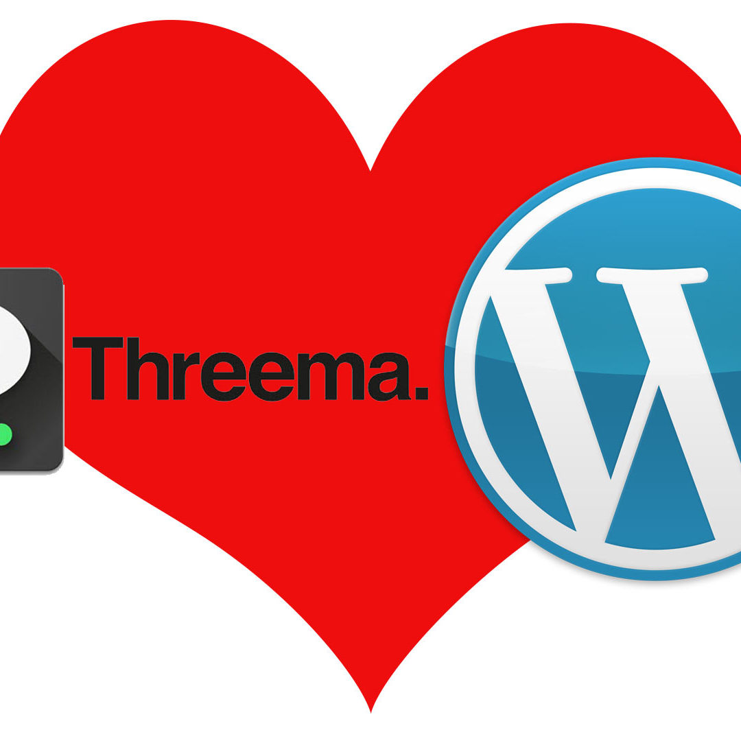 Wie baut man Threema in WordPress ein?