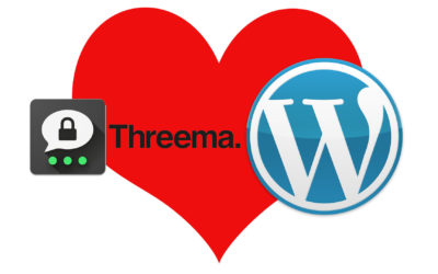Wie baut man Threema in WordPress ein?