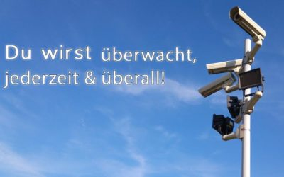 Du wirst überwacht, gefilmt und abgehört – immer überall jederzeit! Jeder kann euch überwachen!