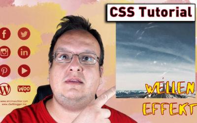 Welleneffekt über Bilder legen (jQuery und HTML) [Anleitung / Tutorial]