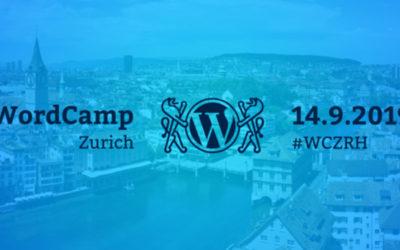 WordCamp Zürich 2019 – Mein Rückblick