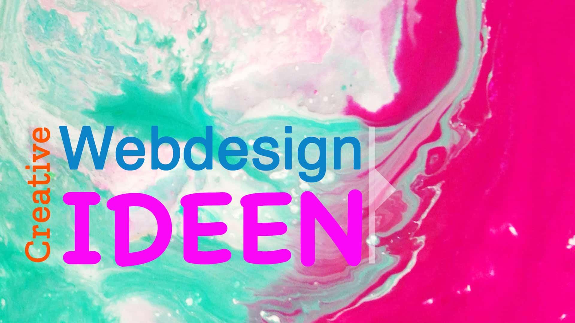 Coole und creative Webseiten Design Ideen 2019