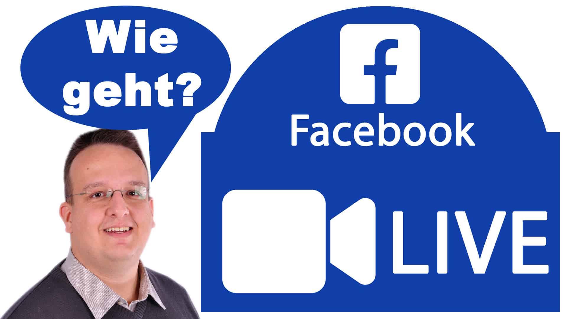 Wie startet man am PC / Mac einen Facebook Livestream? Mit der App oder am Browser?