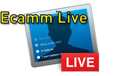 Ecamm Live in Aktion #CyberMonday
