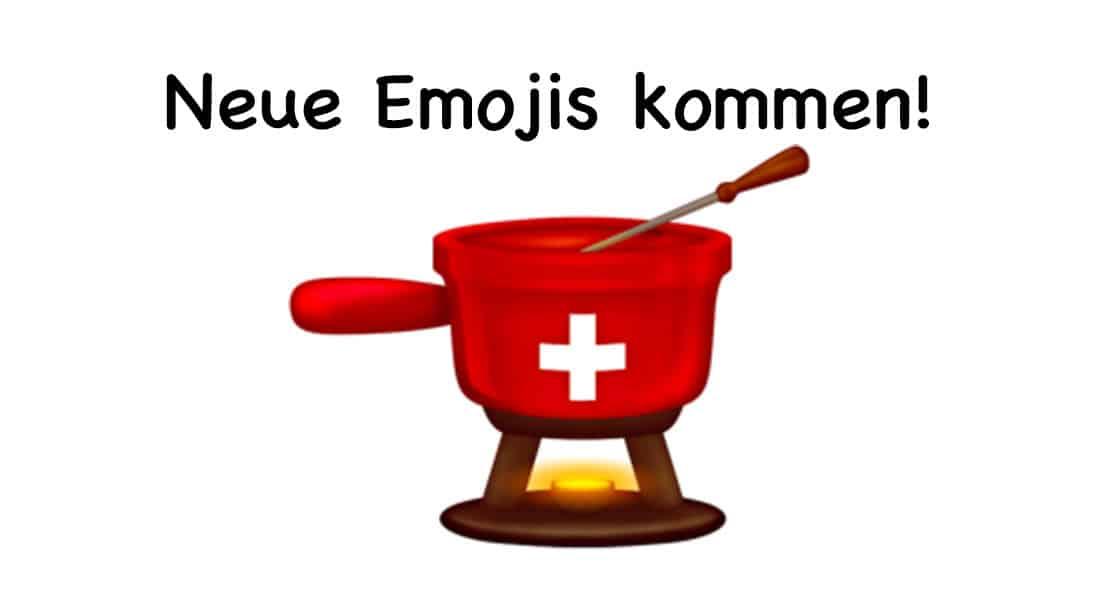 Das sind die neue Emojis 2020 – Schweizer Fondue Emojis kommt auch