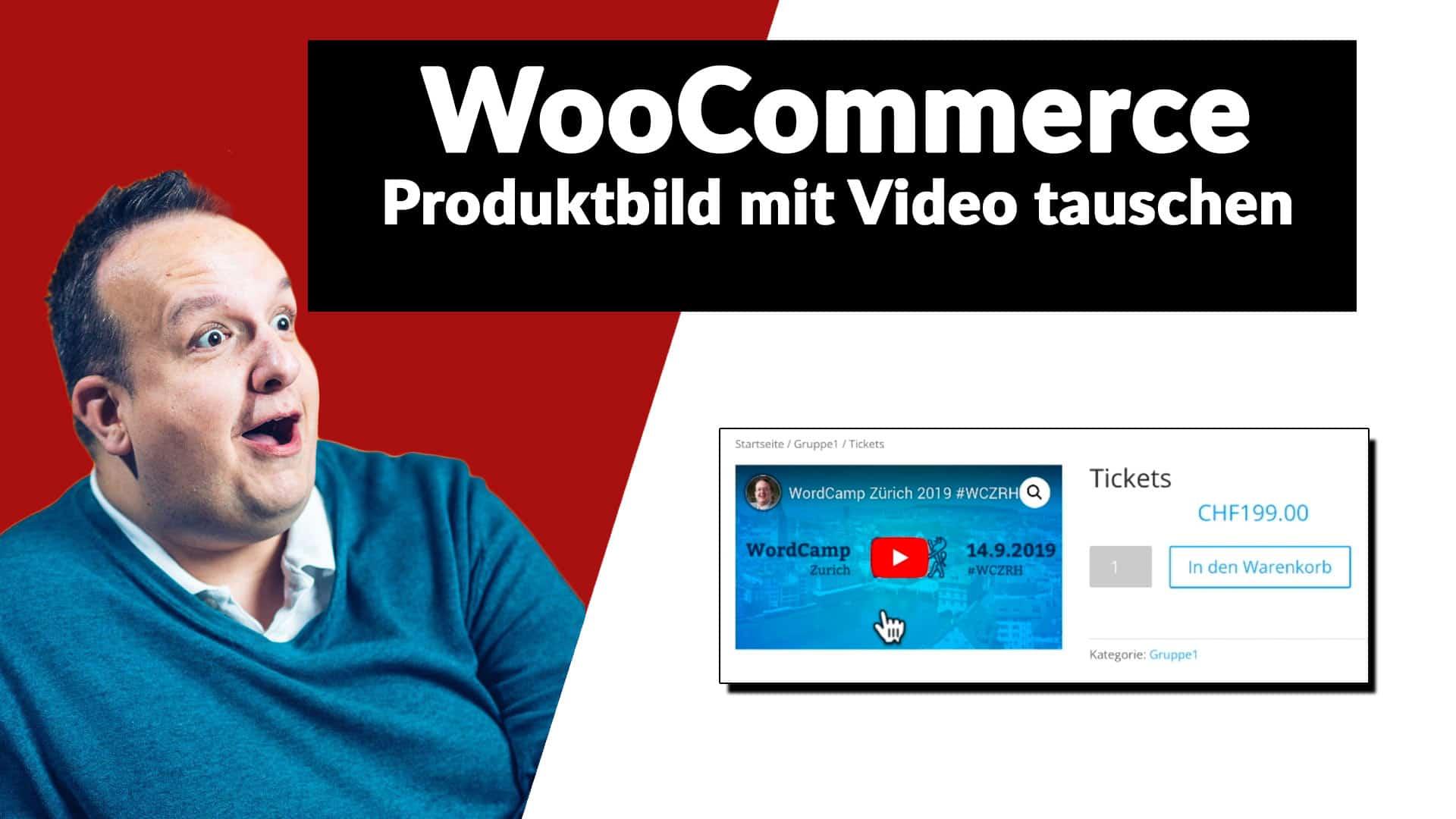 WooCommerce: Produkt Bild mit einem Video austauschen