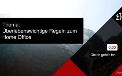 Überlebenswichtige Regeln zum Home Office 400x250 - Blog