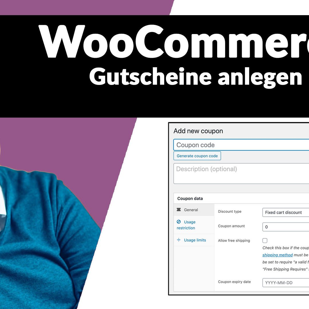 WooCommerce Anleitung: Wie legt man einen Gutschein an?