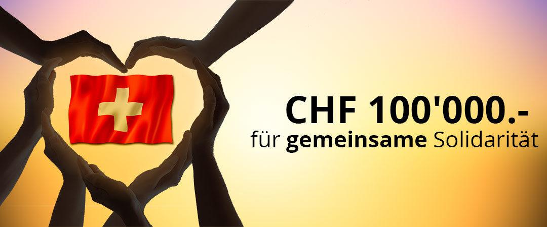 Gemeinsam gegen die Covid19 Krise – Beispiel gonser.ch