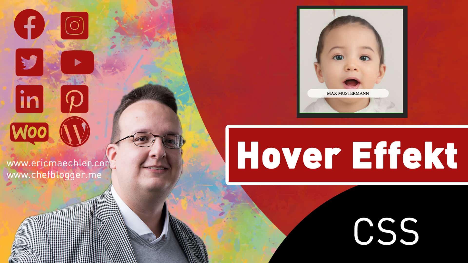 Ein cooles Profilbild mit Hover Effekt in CSS