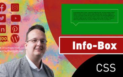 Wie erstellt man mit CSS eine Info Box 400x250 - Blog