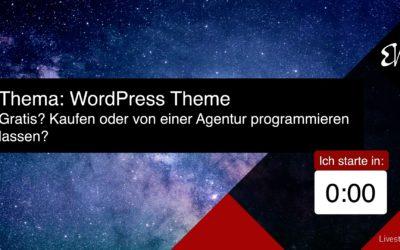 wordpress theme gratis kaufen oder von einer agentur entwickeln lassen 400x250 - Blog