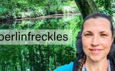 """Berlinfreckles – eine Frau geht ihren verrückten Weg – Wander- & Haarspendeaktion """"Mamas Zopf"""" für Kinder"""