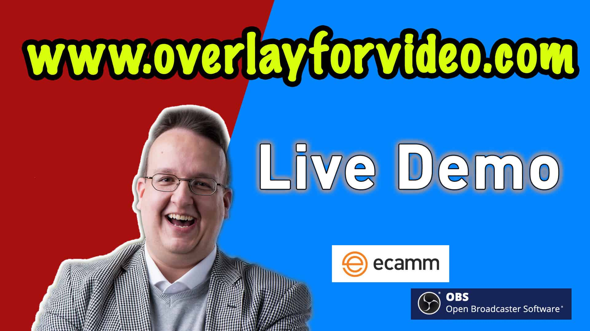 overlayforvideo live demo - Home