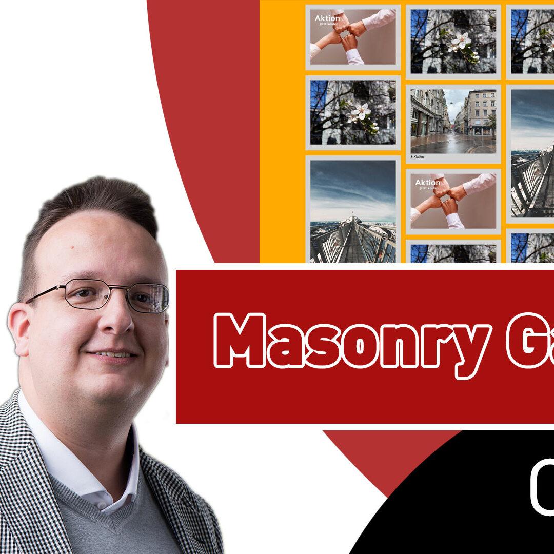 Wie erstellt man eine einfache CSS Masonry Galerie  (Nur CSS und HTML) [Anleitung / Tutorial]