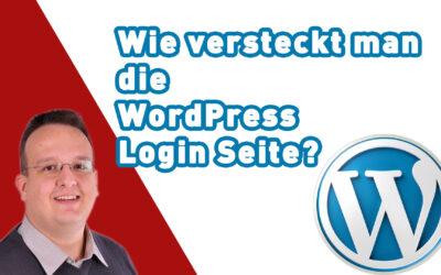 wie versteckt man die wordpress login seite 400x250 - Blog