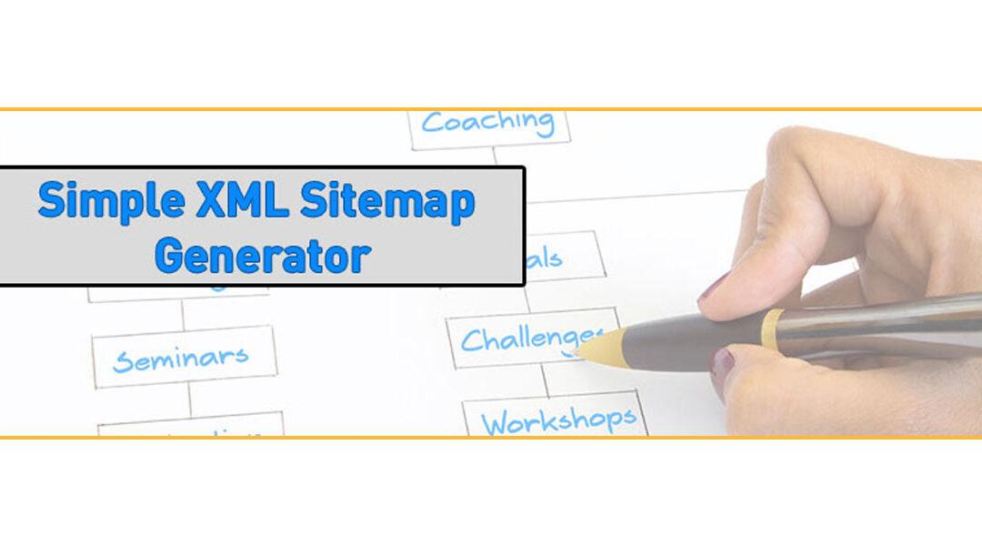 WordPress Plugin Simple XML Sitemap Generator Version 2.1 wurde veröffentlicht