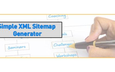 wordpress plugin simple xml sitemap generator 400x250 - Blog