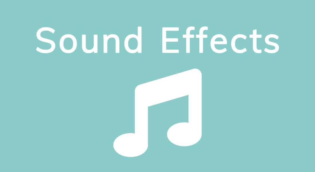 Free Sound Effects / Freie Musik und Geräusche