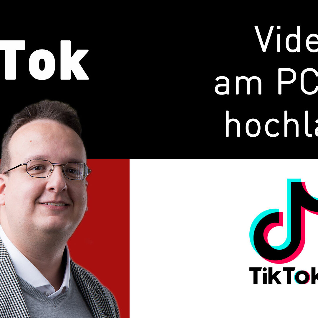 Tiktok Videos am Mac / PC hochladen