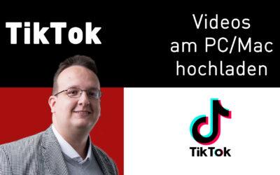 tiktok videos am pc mac hochladen 400x250 - Blog