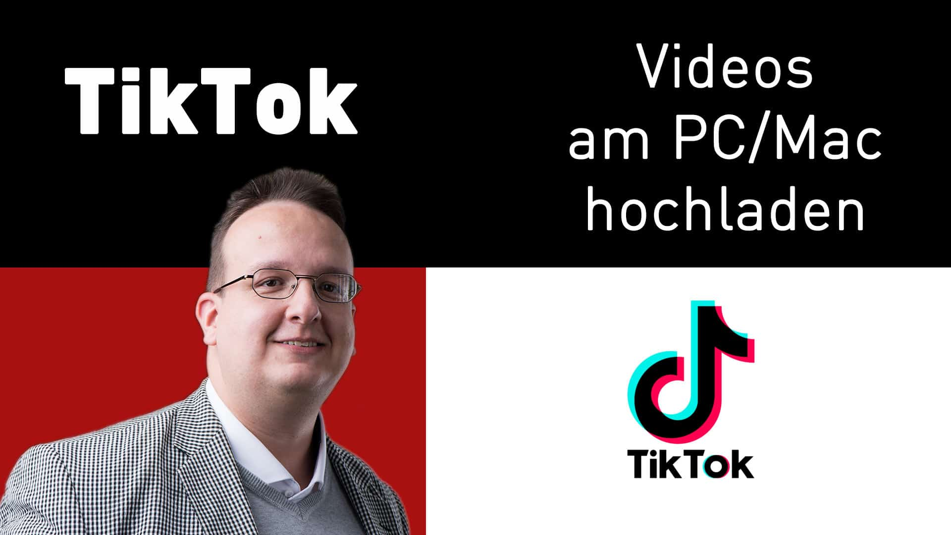 Tiktok Videos am Mac / PC hochladen