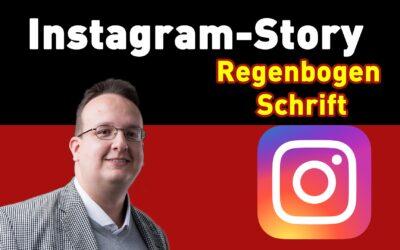 instagram regenbogenschrift 400x250 - Blog