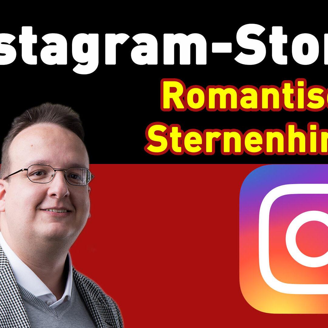 Instagram Story Hack / Trick – Einen romantischen Sternenhimmel Effekt erstellen