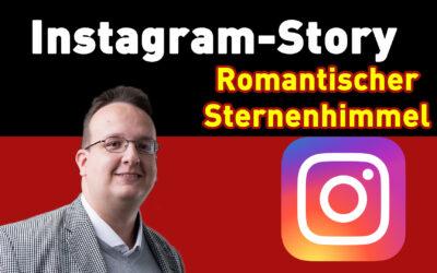 instagram story hack romatischer sternenhimmel erstellen 400x250 - Blog