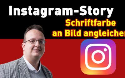 instagram story hack schrift an bild angleichen 400x250 - Blog