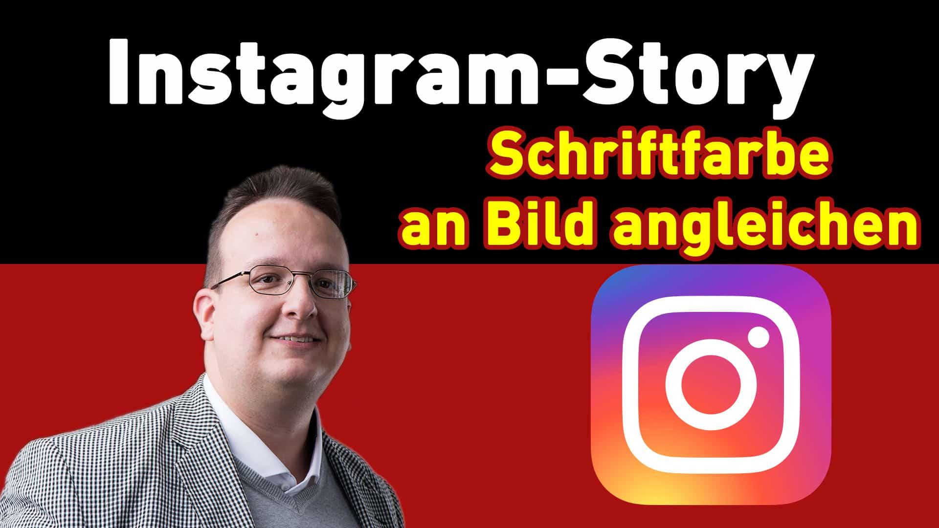 instagram story hack schrift an bild angleichen - Home
