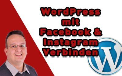 wordpress mit facebook instagram verbinden 400x250 - Blog