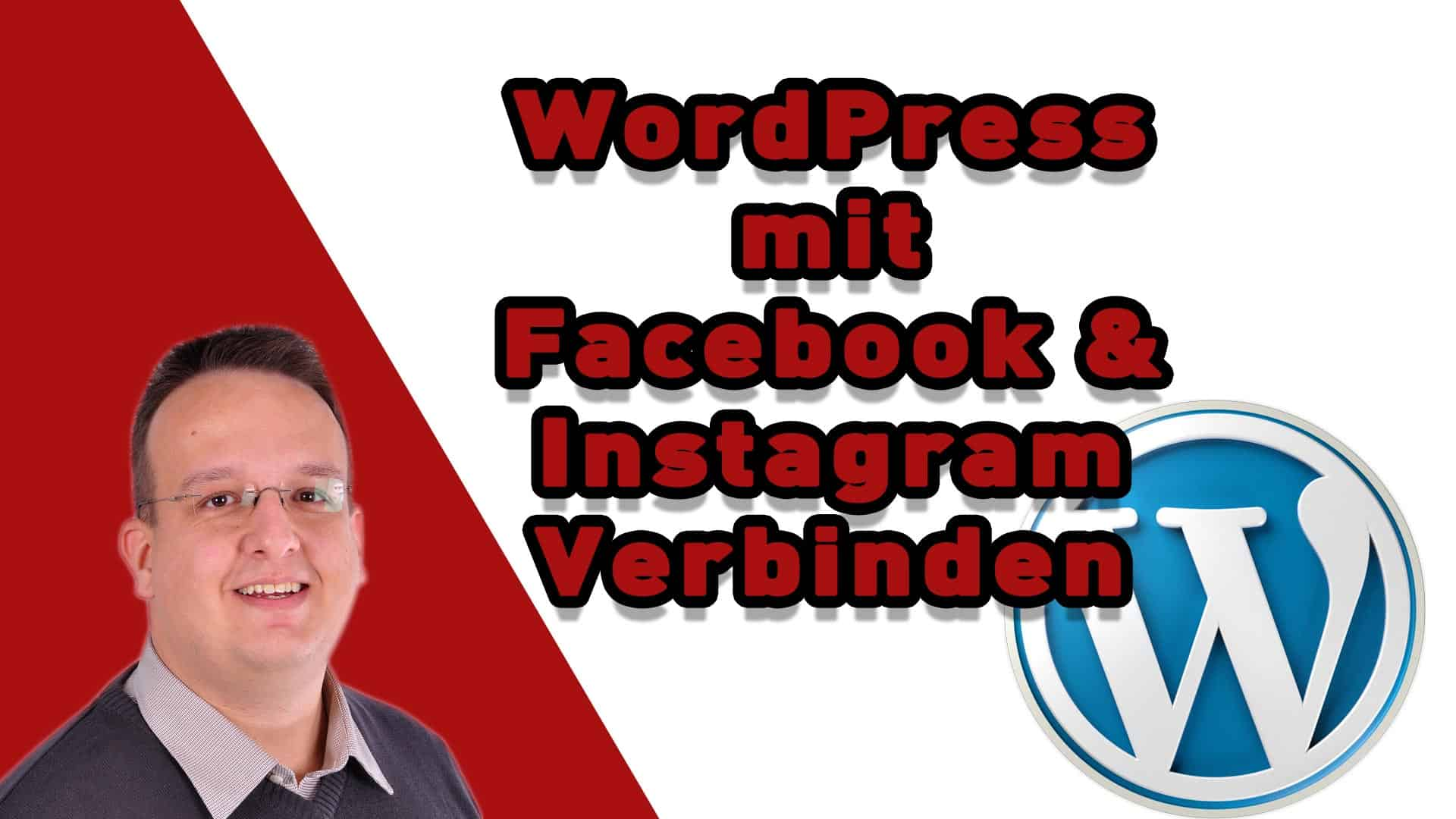 WordPress mit Facebook und Instagram verbinden