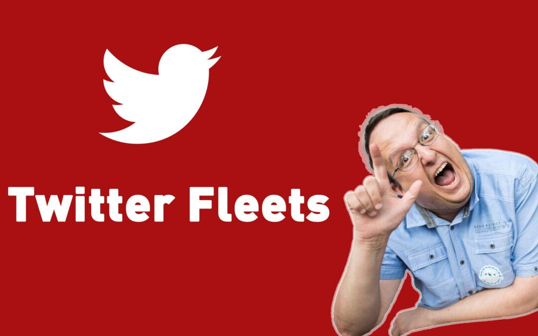 Twitter Fleets – Was ist das und wie funktioniert das? Kurz erklärt