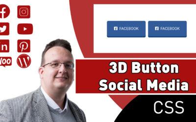 Wie erstelle ich einen 3D Social Media Button?
