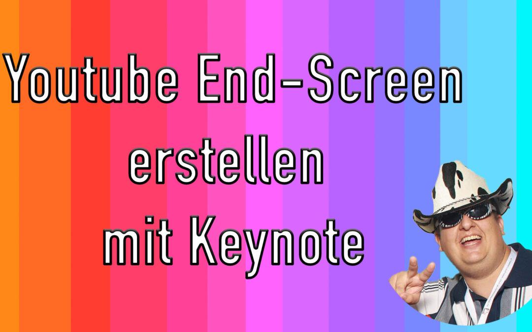 Animierte Youtube End Screen erstellen mit Keynote