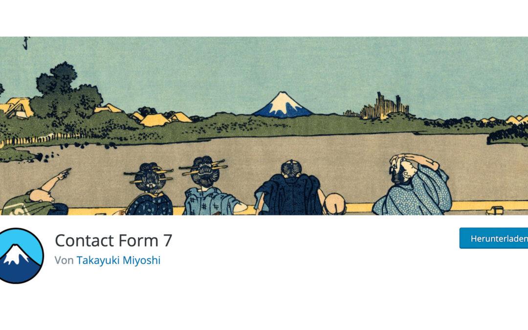 Contact Form 7: Sicherheitslücke entdeckt – sofort Plugin updaten