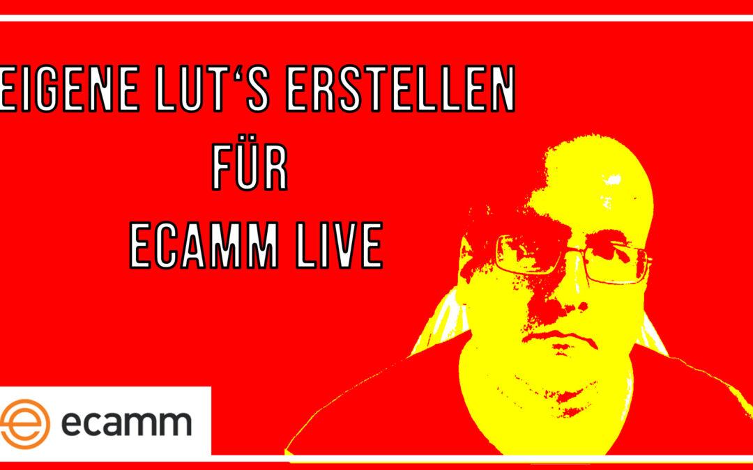 Mit Photoshop eigene LUTs für Ecamm Live erstellen [Anleitung / Tutorial in Deutsch]