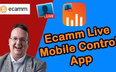 Ecamm Live Mobile Control – die neue App von Ecamm Live – kennt ihr diese schon?