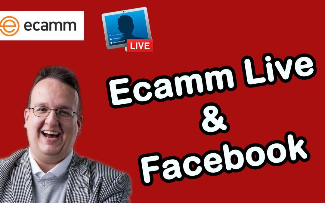 Ecamm Live: Wie verbinde ich mich mit Facebook und mache so einen Livestream?