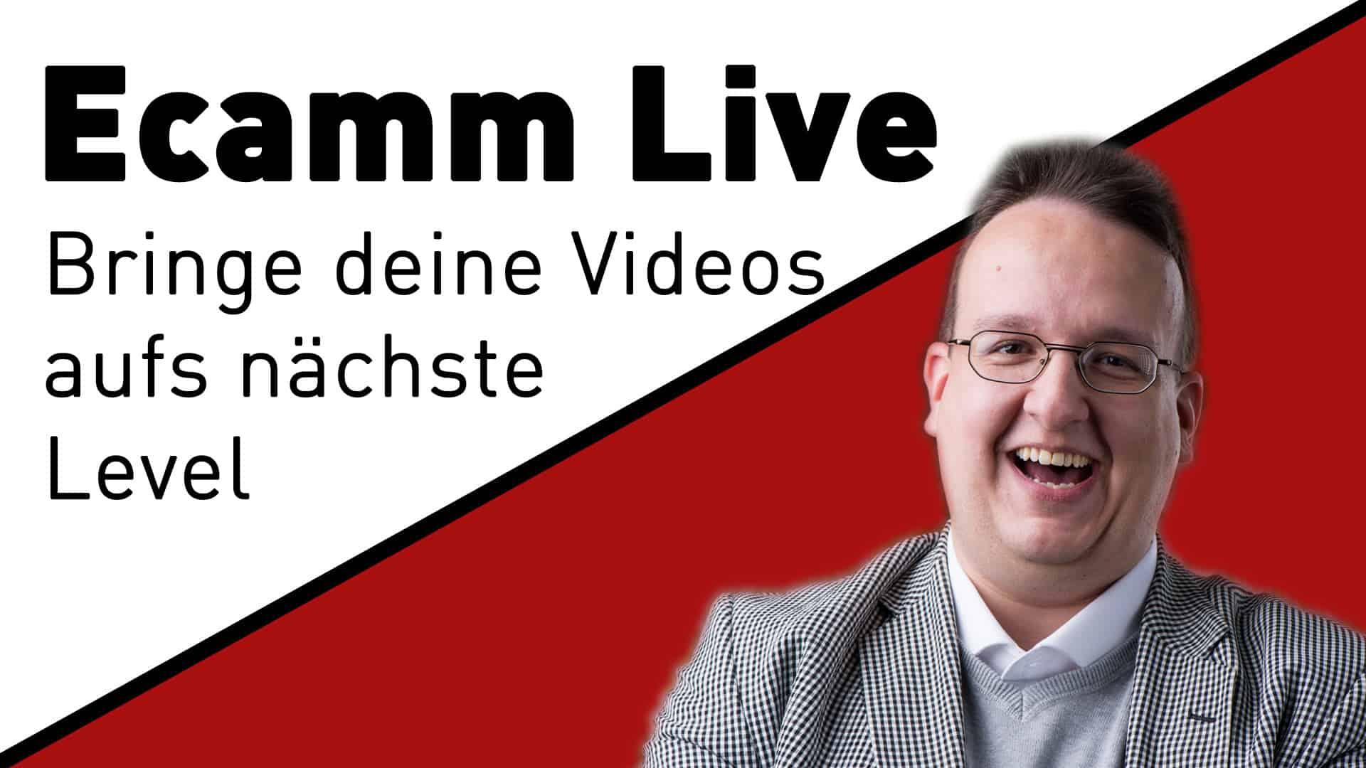 webinar ecamm live fortgeschrittene - Ecamm Live Webinare
