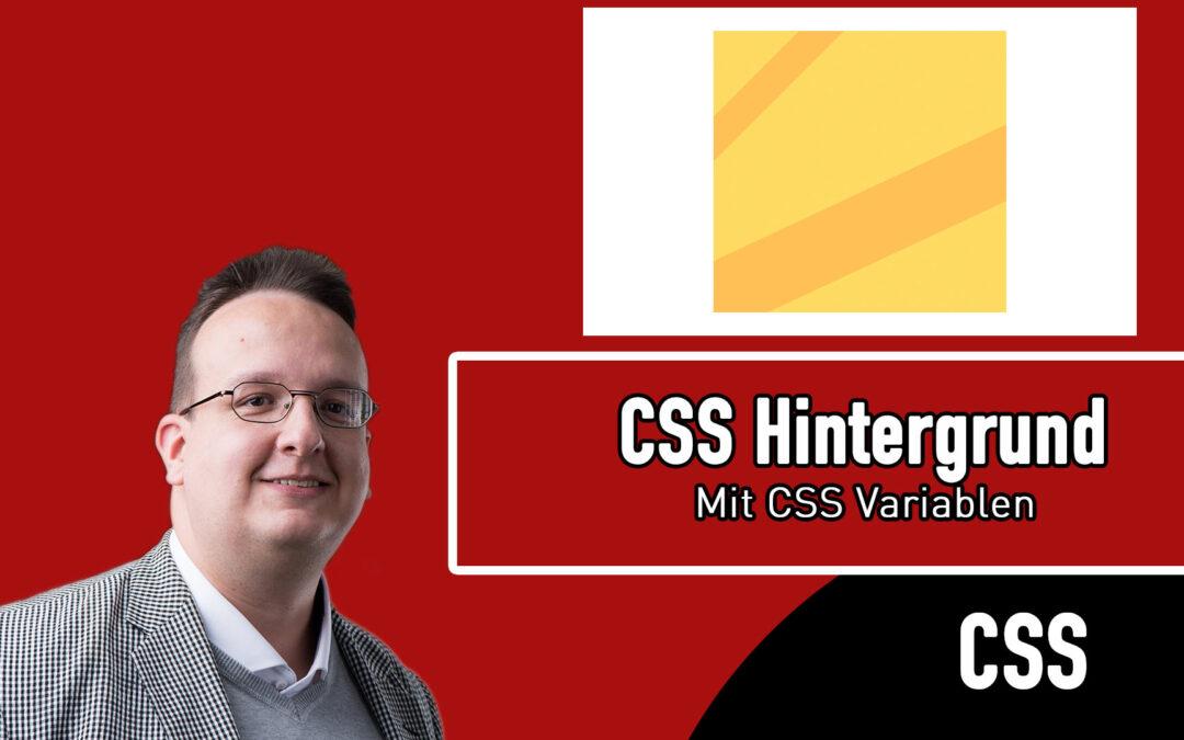 Kreativer CSS Hintergrund mit variablen Farben erstellen (Nur CSS und HTML) [Anleitung / Tutorial]
