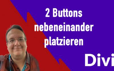 Divi: 2 Buttons nebeneinander platzieren